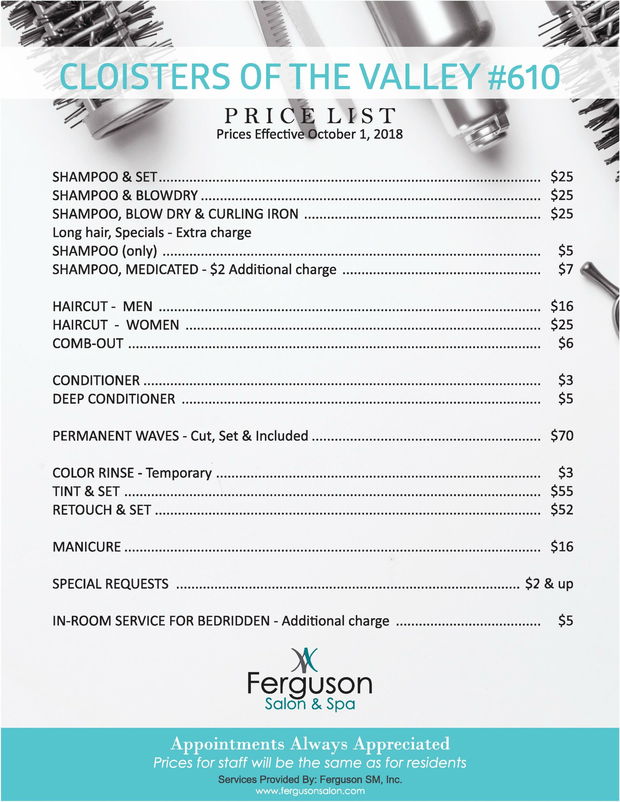 CLOISTERS_Salon_Prices_page