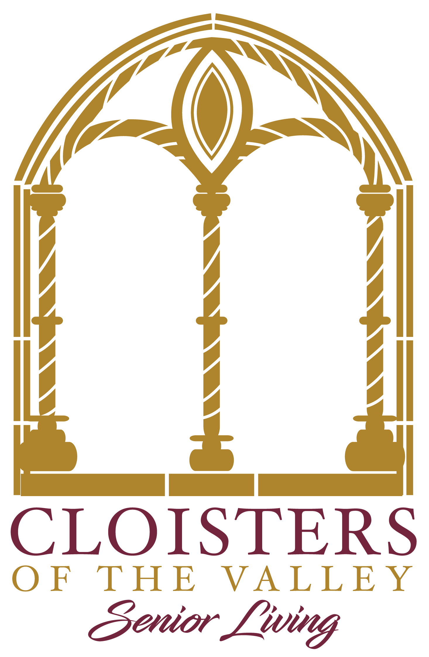 transparent Cloisters of the Valley Logo-01
